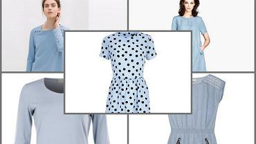 5 najładniejszych błękitnych sukienek z wiosennych kolekcji