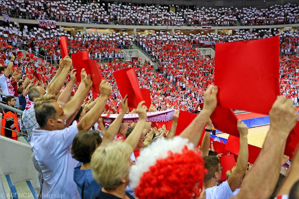 Liga Światowa. Polska - USA 1:3. Kibice
