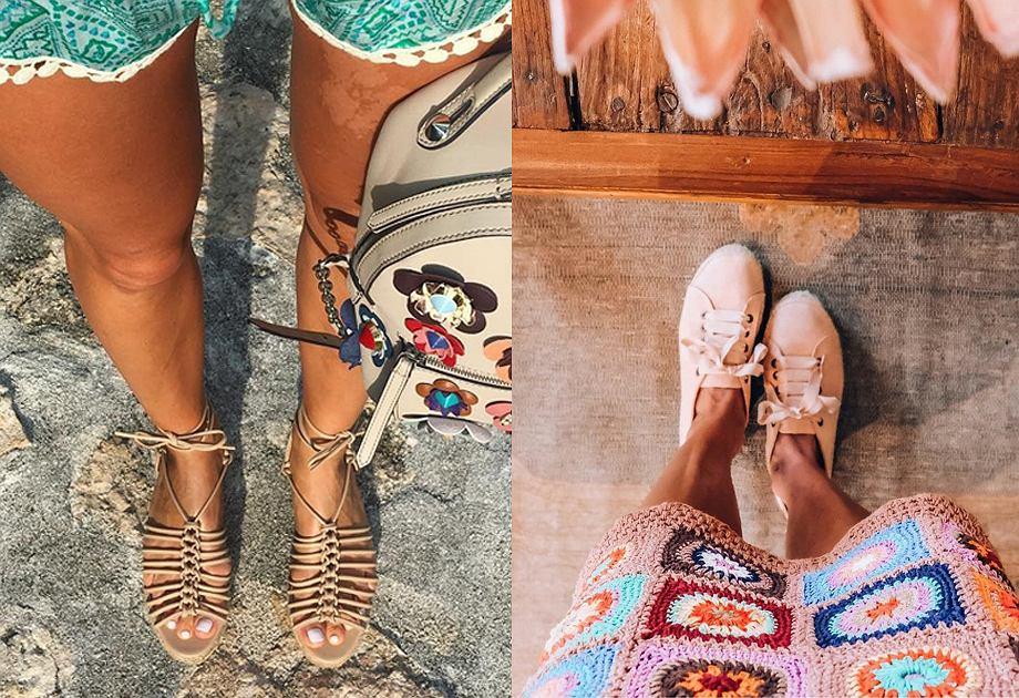 Buty na lato z wyprzedaży