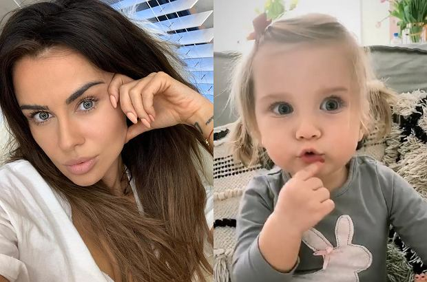d557840c15f14 Natalia Siwiec od kiedy została mamą, cały czas pokazuje swoją córkę Mię na  Instagramie.