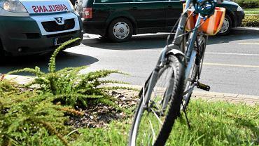 Wielkopolskie. Wypadek na trasie dziecięcego wyścigu kolarskiego (zdjęcie ilustracyjne z 2017 r.)
