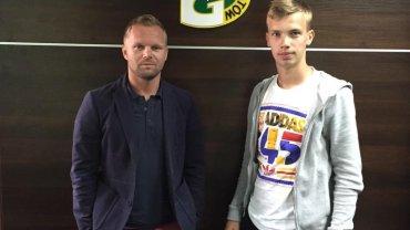 Jakub Serafin wypożyczony z Lecha Poznań do GKS Bełchatów