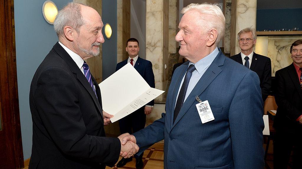 Antoni Macierewicz i prof. Zdzisław Gosiewski