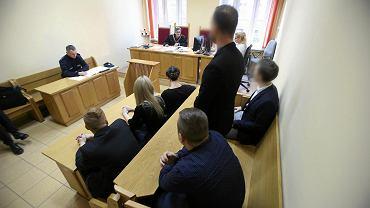 Rozprawa przed szczecińskim sądem rejonowym