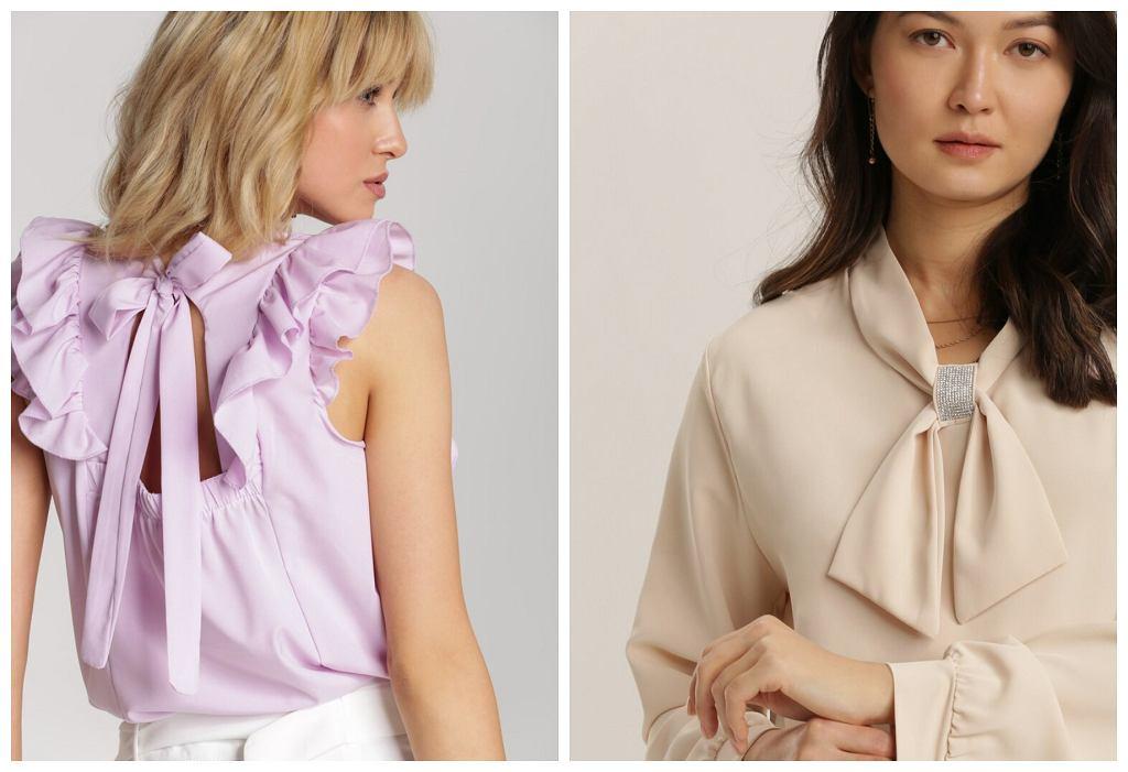 pastelowe bluzki
