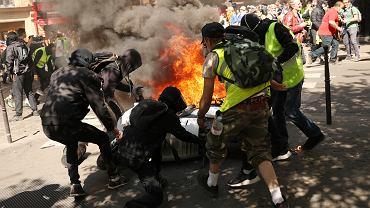 23 weekend protestów 'żółtych kamizelek' w Paryżu