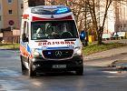 Pacjent z podejrzeniem koronawirusa zaatakował nożem ratownika pogotowia
