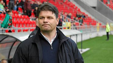 GKS Tychy - Sandecja Nowy Sącz. Trener Radosław Mroczkowski
