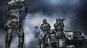 Policyjni antyterroryści