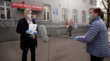 Dr Wojciech Konieczny negatywnie o wygaszaniu szpitali tymczasowych
