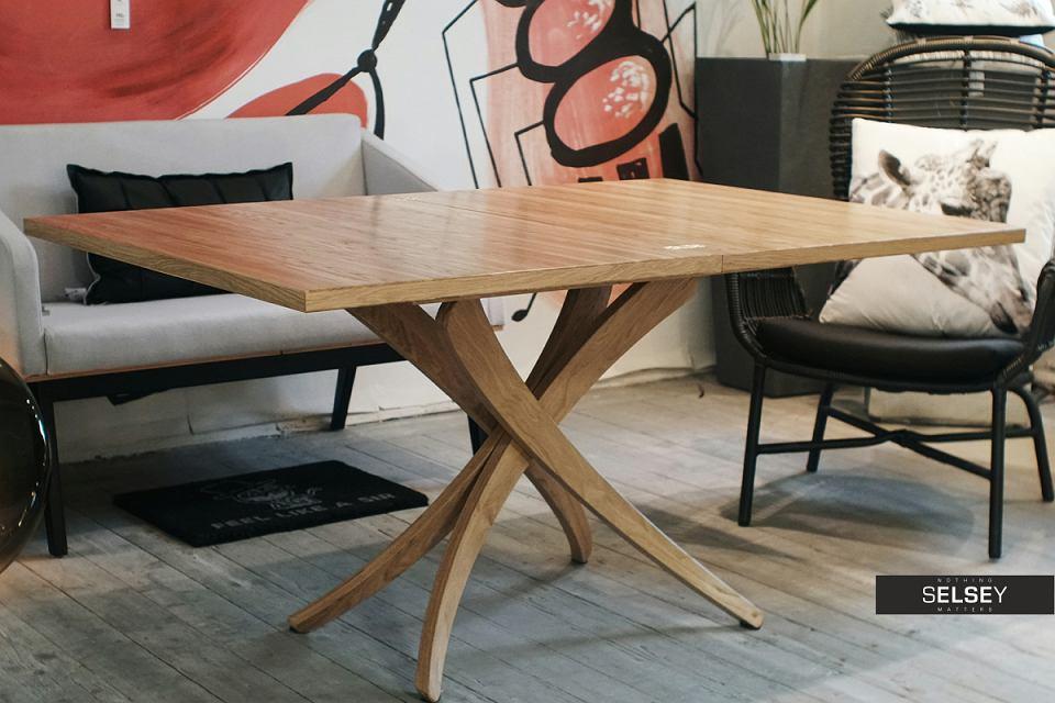 Stół rozkładany Genius: 3 w 1.