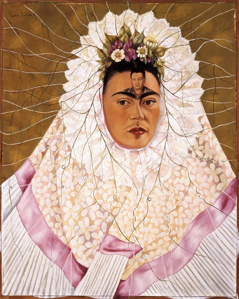 Frida Kahlo, Self-Portrait as Tehuana or Diego in My Thoughts, 1943 / 2016 Banco de México Diego Rivera Frida Kahlo Museums Trust, Mexico, D.F. / Artists Rights Society (ARS), New York