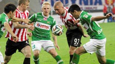 Lechia - Cracovia 1:0. Daniel Łukasik