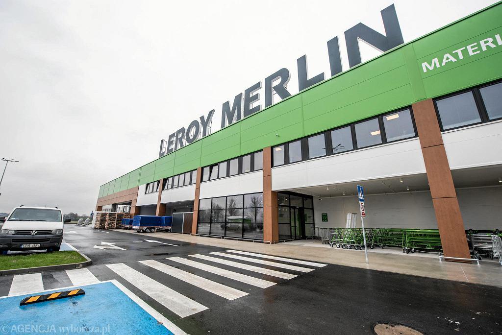 Gigamarket budowlany Leroy Merlin w Mirkowie