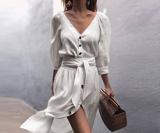 159e2e937010d Trenczowe sukienki na lato. Mamy modele w stylu księżnej Meghan Markle!