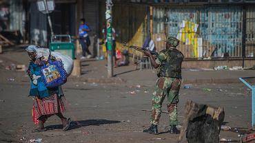 Zamieszki i starcia z wojskiem na ulicach Harare po wyborach w Zimbabwe