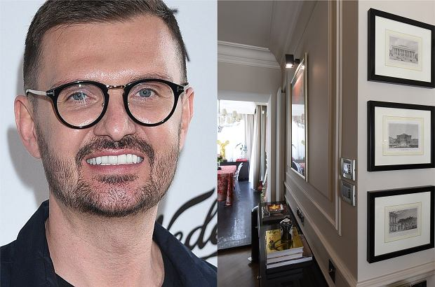 """Maciej Zień zaprosił kamery do swojego mieszkania. Dzięki temu w programie """"Gwiazdy prywatnie"""" na TVN Style mogliśmy zobaczyć, jak mieszka projektant."""