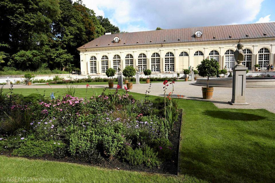 łazienki Królewskie Holenderski Ogród Kwiatowy W Starej
