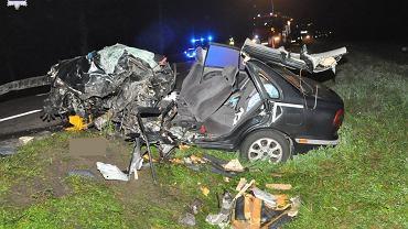 Tragiczny wypadek w Worońcu na Lubelszczyźnie. Nie żyje 25-latek