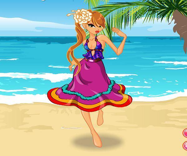 Ubieranka: na plaży