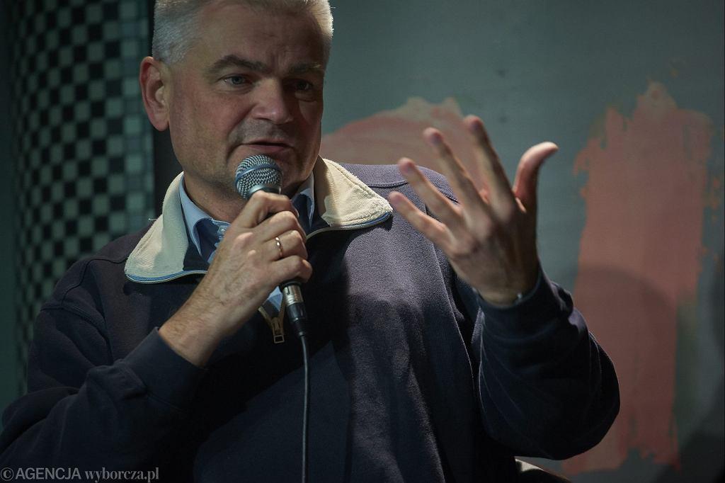 Edwin Bendyk na debacie o spektaklu