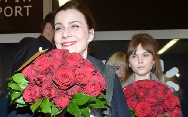 luty 2015, Powrót Agaty Kuleszy i Agaty Trzebuchowskiej z Oscarów, Agata Kulesza