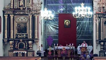 Transmisja mszy w nowosądeckiej parafii