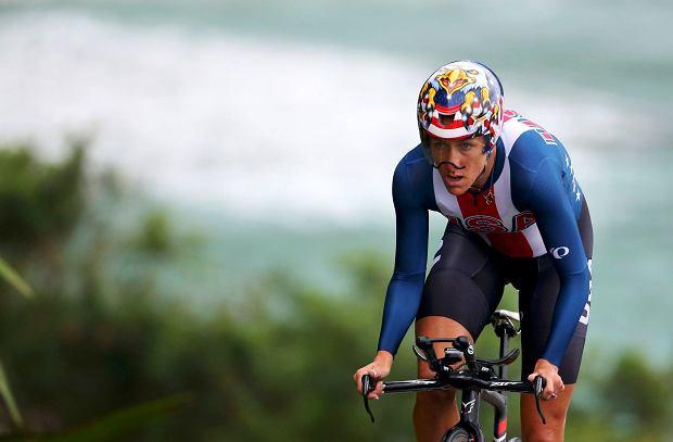Kristin Armstrong na trasie, Rio 2016