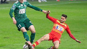 Jagiellonia Białystok przegrała ze Śląskiem Wrocław0:1
