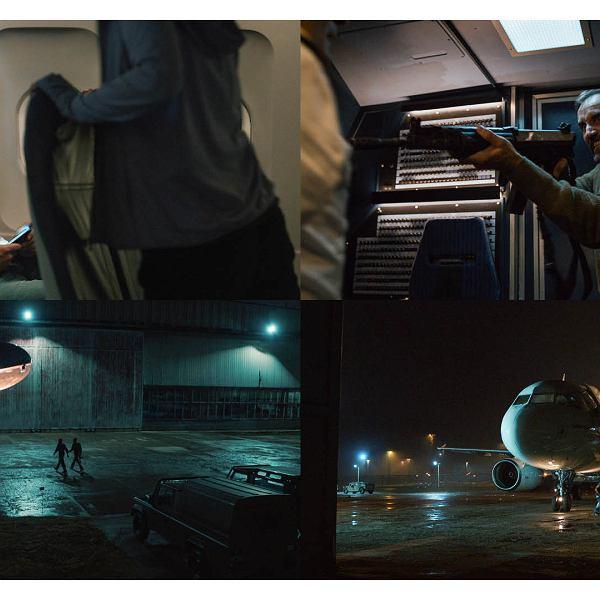 Ksawery Szlenkier (pierwszy z lewej) w serialu Netflixa 'Kierunek: Noc'