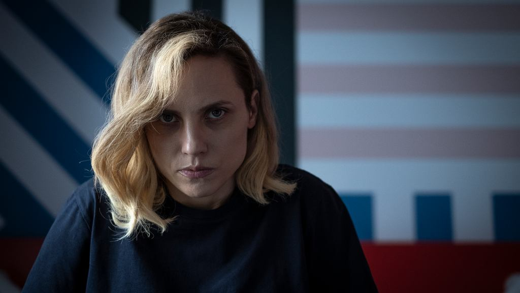Julia Kijowska w serialu 'Rysa'