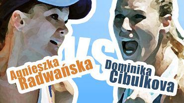 Agnieszka Radwańska vs Dominika Cibulkova