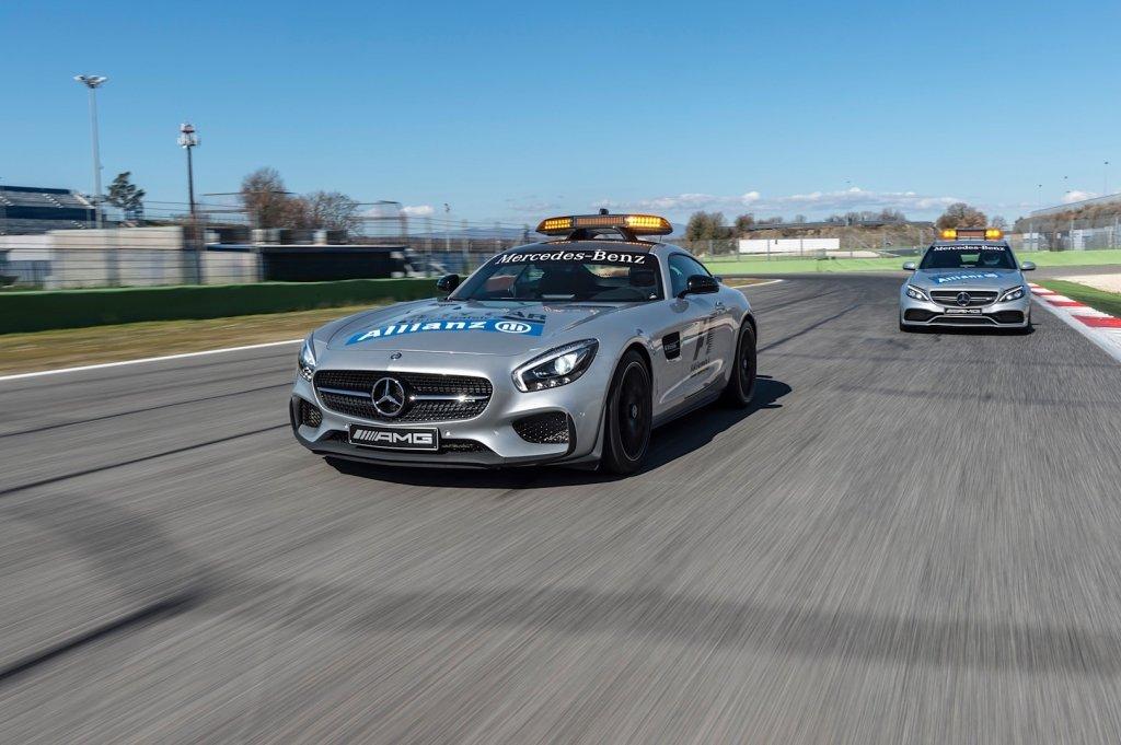 Mercedes AMG GT Safety Car