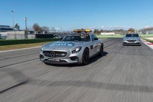 Mercedes-AMG GT S i C 63 S Estate Safety Car   Nowa flota bezpieczeństwa w F1