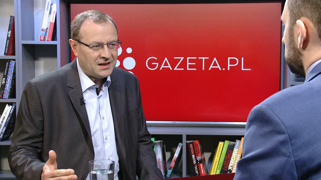Prof. Antoni Dudek jest gościem Przedpołudniowej rozmowy Gazeta.pl