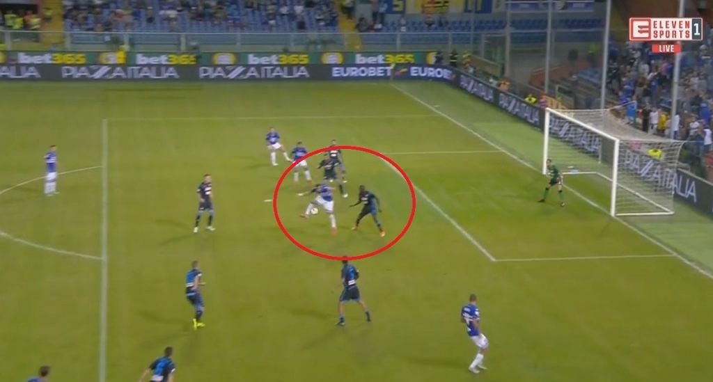 Piękny gol Fabio Quagliarelli
