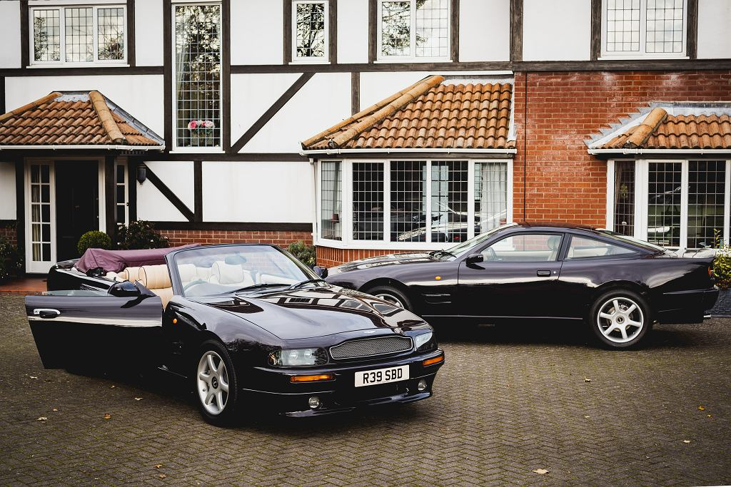 Aston Martin V8 Volante LWB i Aston Martin V8 Coupe
