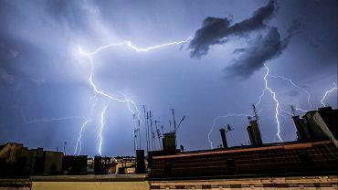 Pogoda w Radomiu. Burze z intensywnymi opadami deszczu