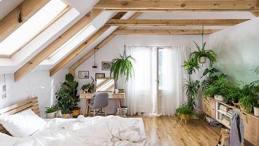Sypialnia z meblami Nature.