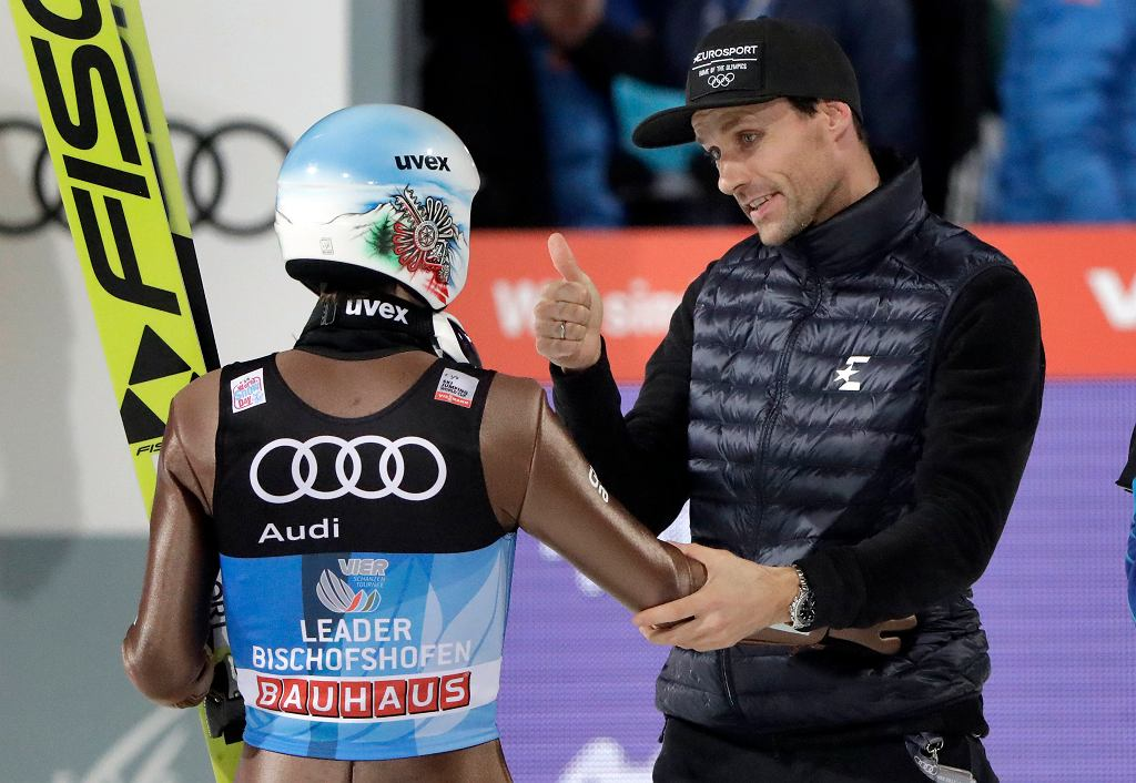 Kamil Stoch i Sven Hannawald