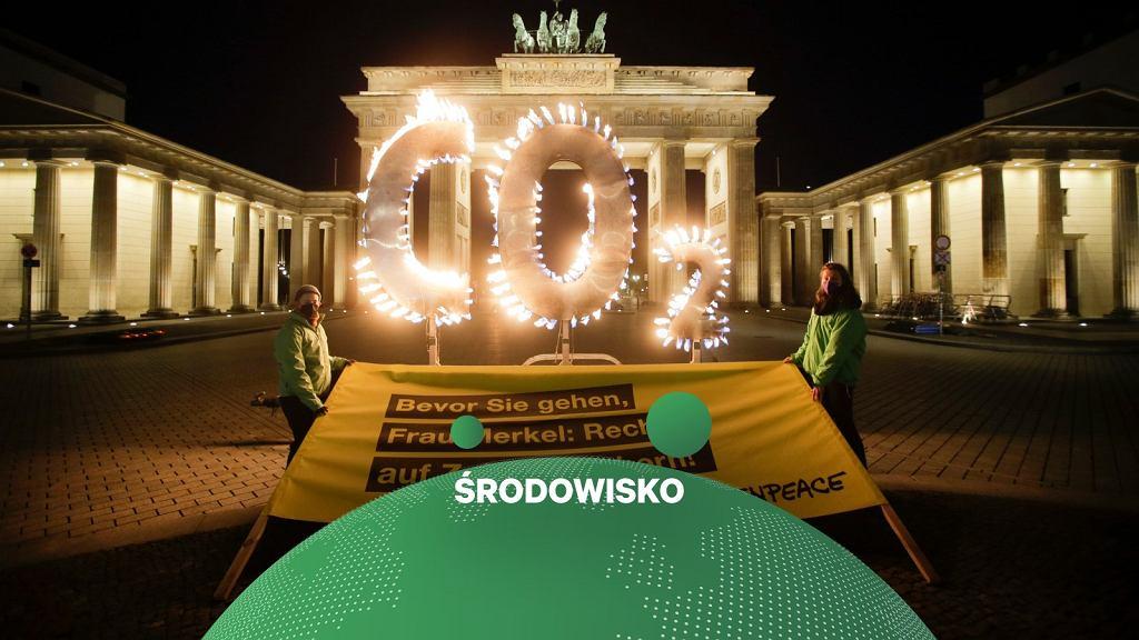 Akcja Greenpeace w Berlinie