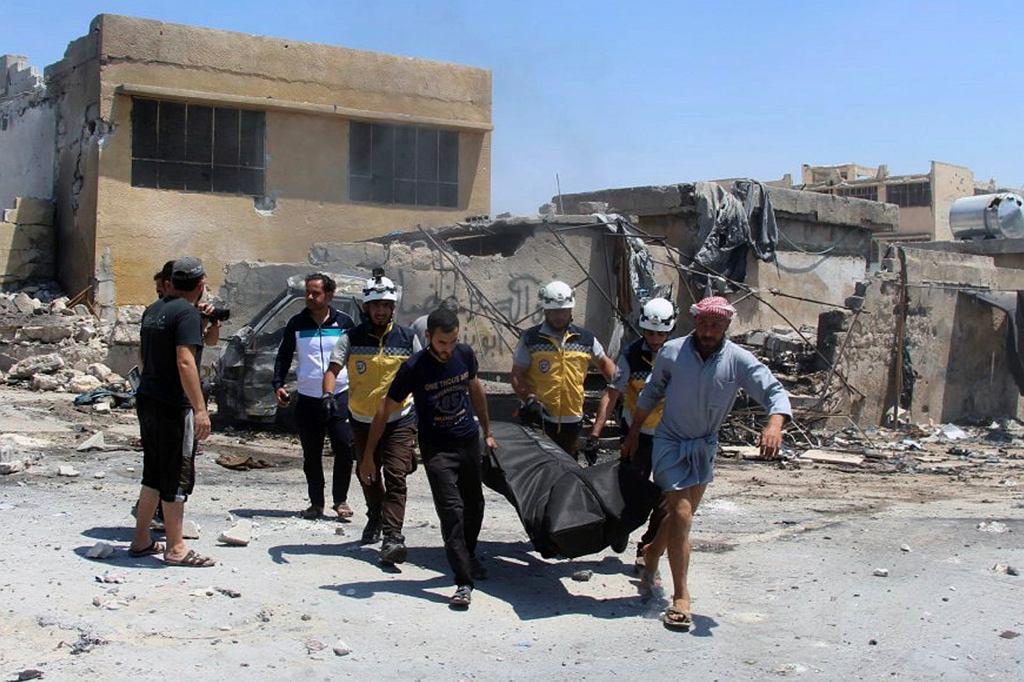 Syria, zdj. z 20 czerwca 2019 roku