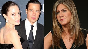 Jennifer Aniston, Brad Pitt, Angelina Jolie