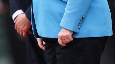 10.07.2019, Berlin, Angela Merkel podczas spotkania z premierem Finlandii Antti Rinne.