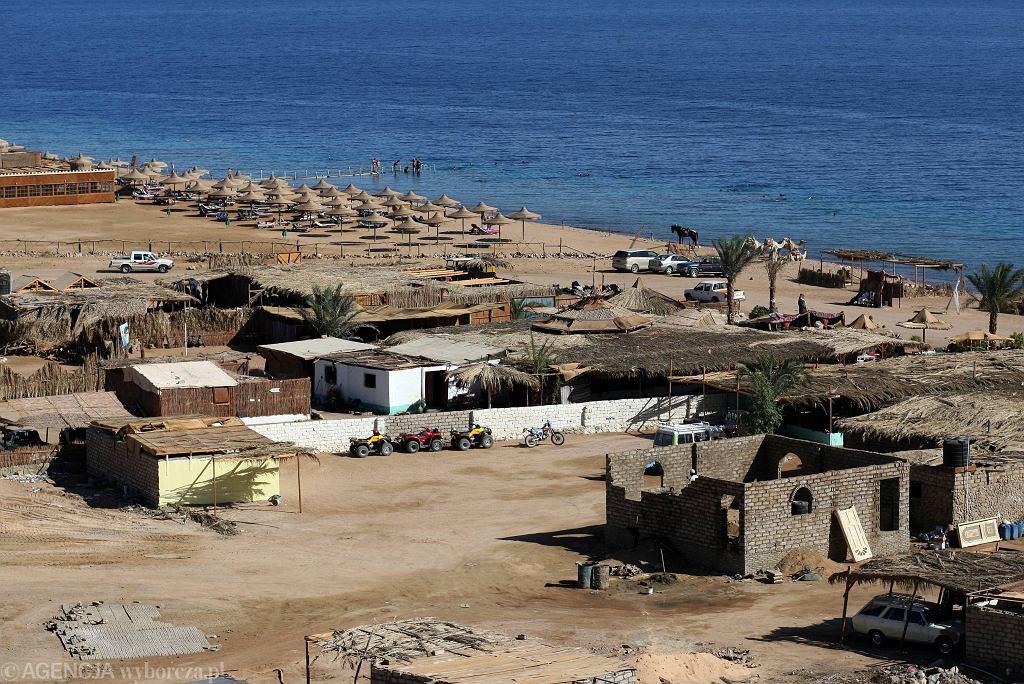 Plaża w Egipcie