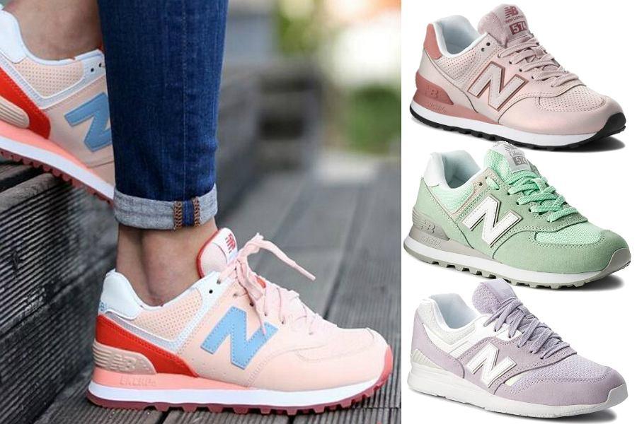 Pastelowe sneakersy New Balance