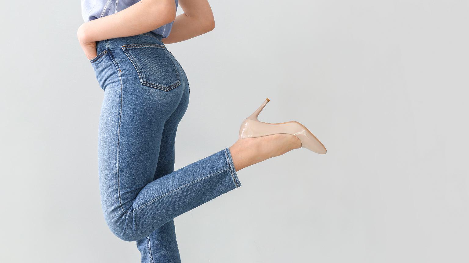 71e5d1be Jeansy - ulubione spodnie większości kobiet. Podpowiadamy, jak ...