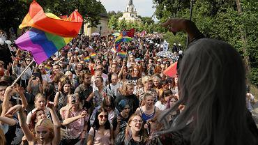 Marsz Równości w Białymstoku.