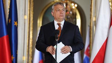 Viktor Orban na Zamku Królewskim w Warszawie (fot. Sławomir Kamiński/AG)