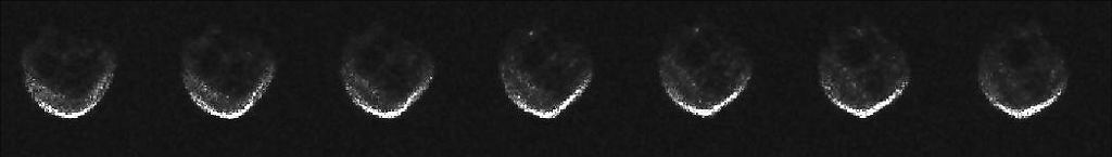 First Radar Images of Halloween Asteroid